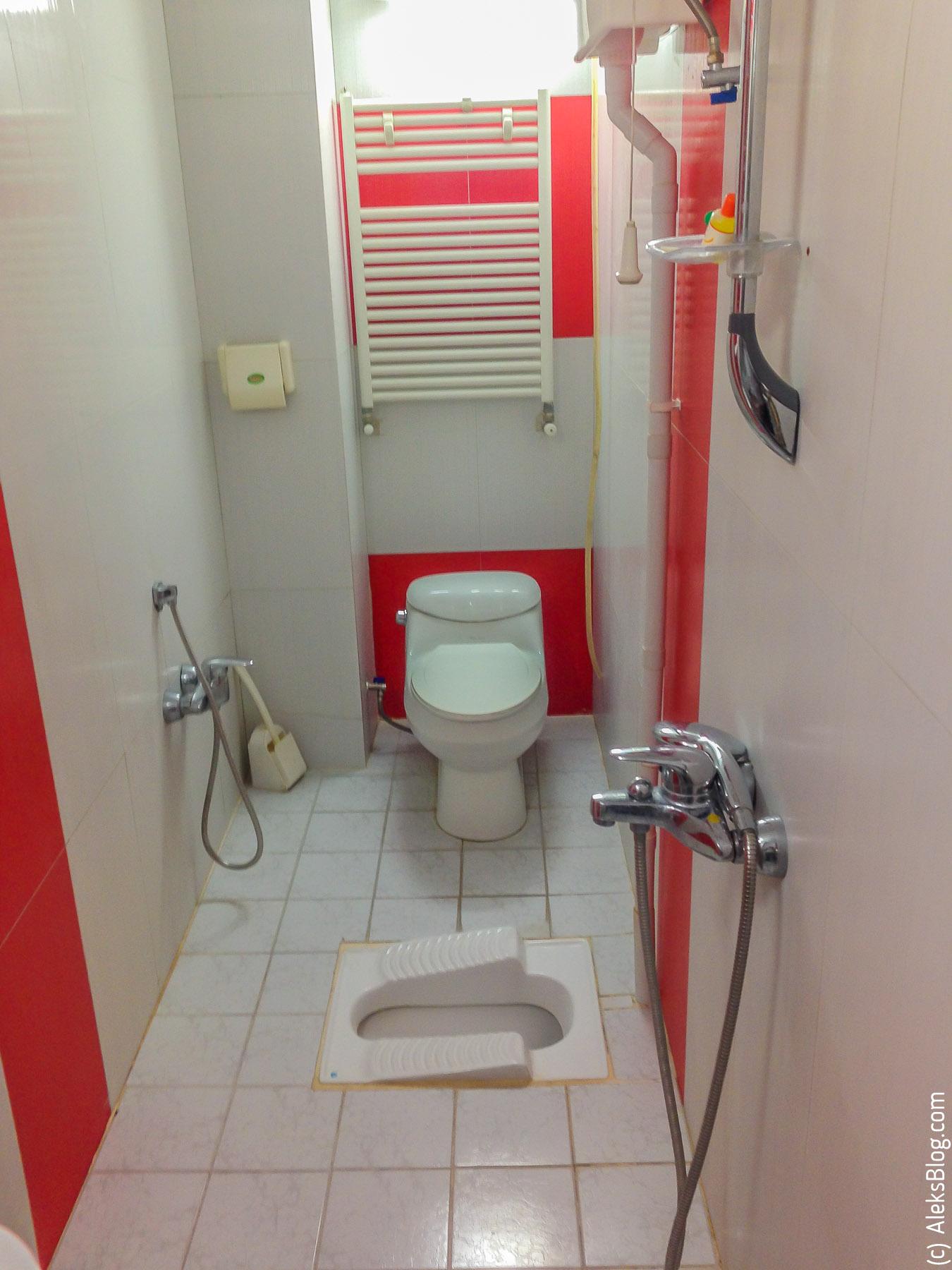 Иран туалеты