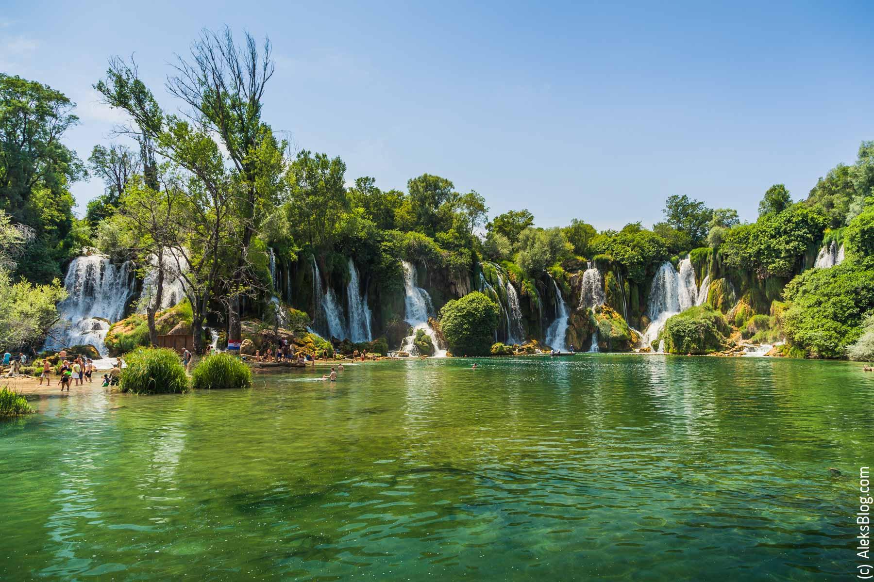 Водопад Кравица