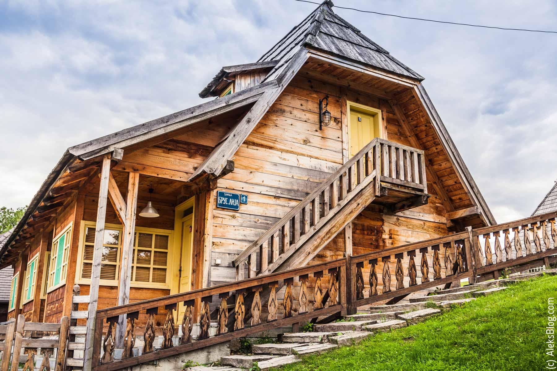 Мокра Гора деревня Кустурицы