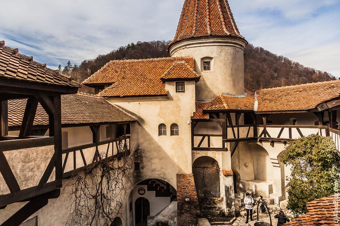 Румыния замок Бран