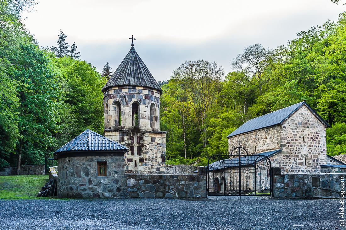 Грузия Зеленый монастырь