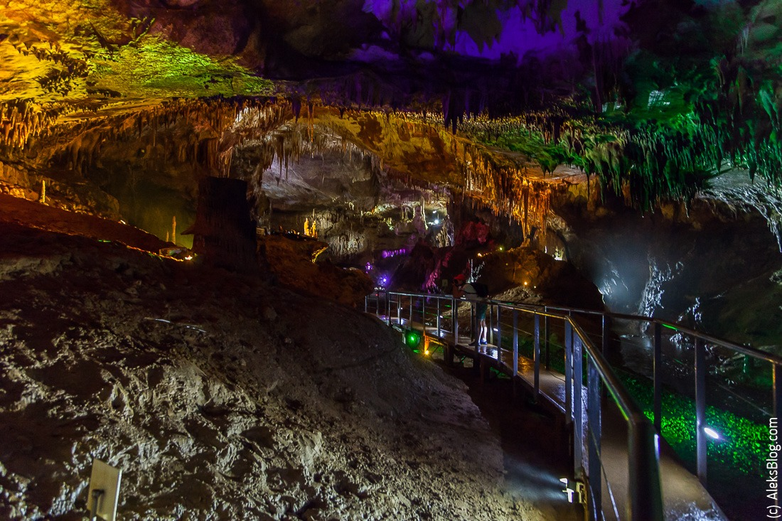 Грузия Пещера Прометея
