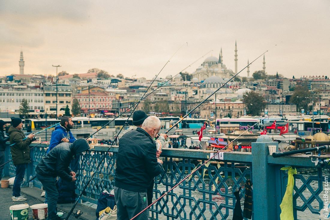 Стамбул Галатский мост