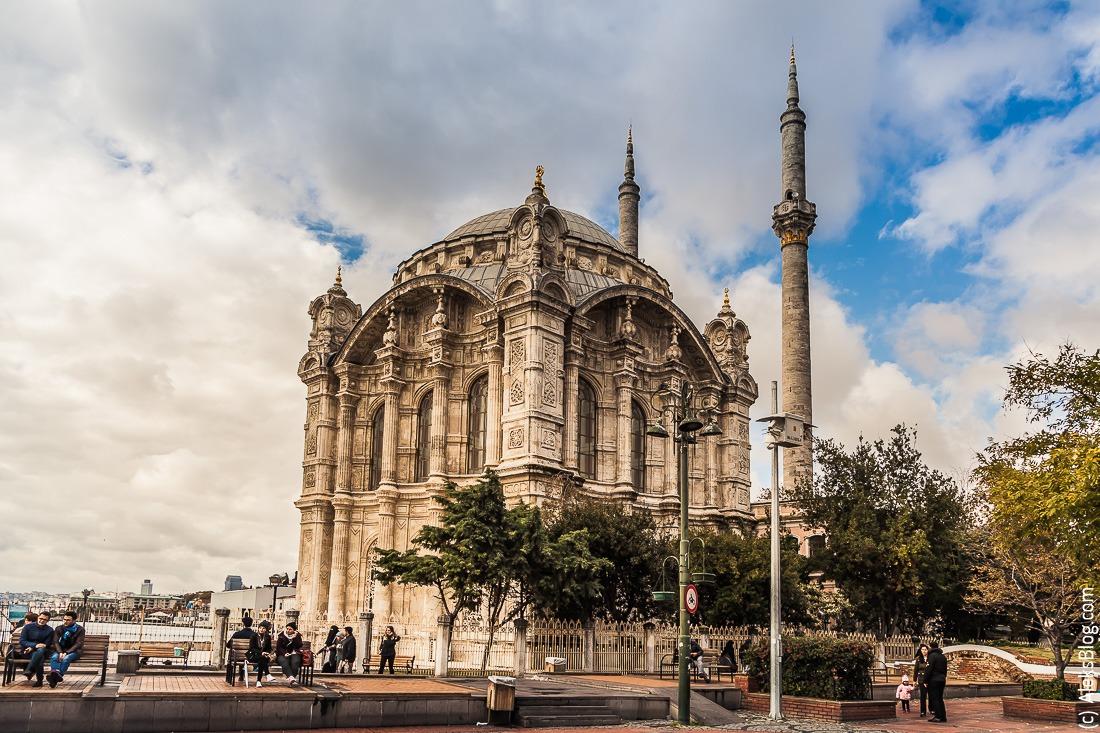 Стамбул мечеть Ортакей