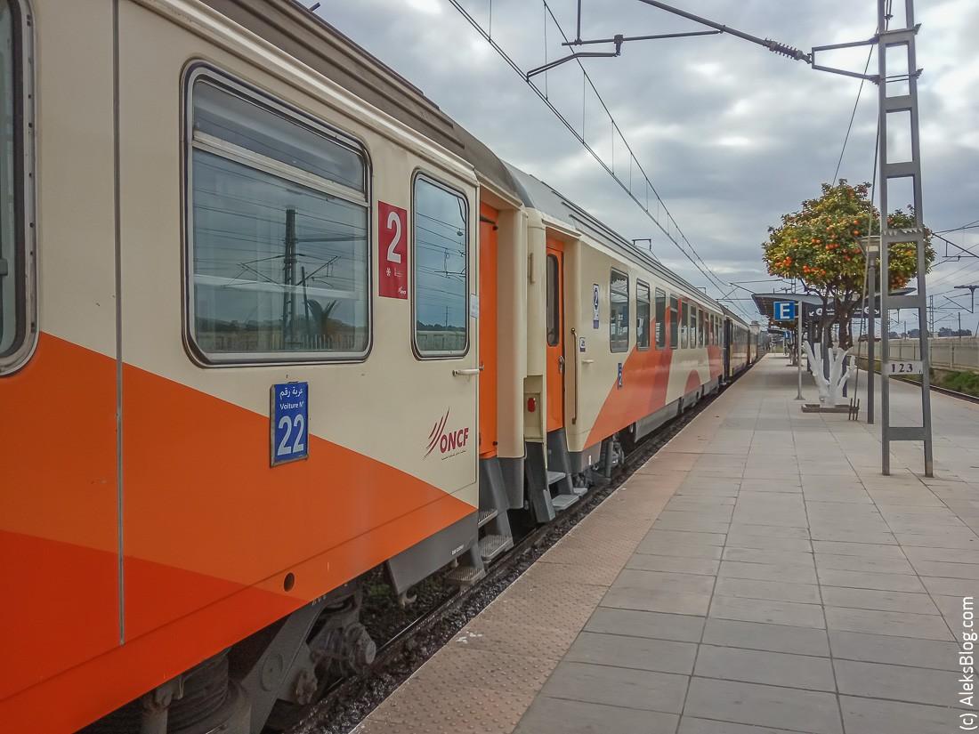 поезда в Марокко