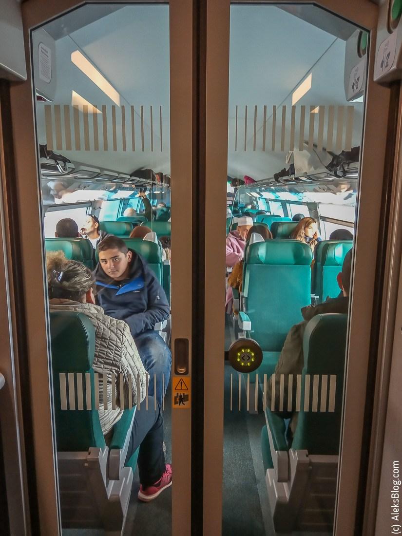 Марокко скоростной поезд Al Boraq