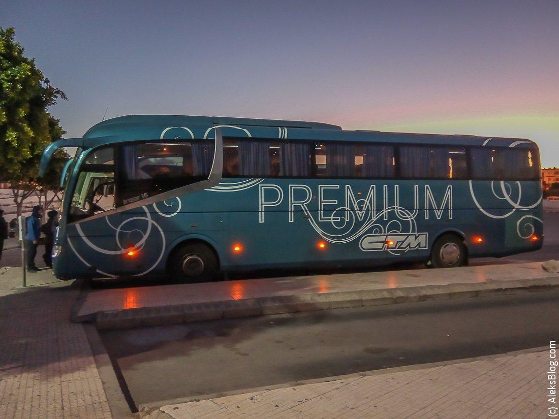 автобусы в Марокко