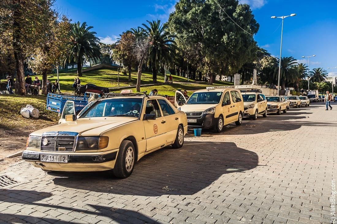 такси в Марокко