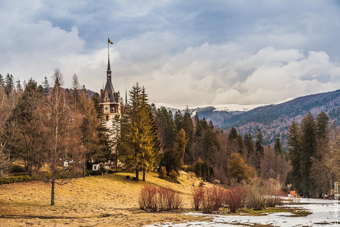 Румыния замок Пелеш