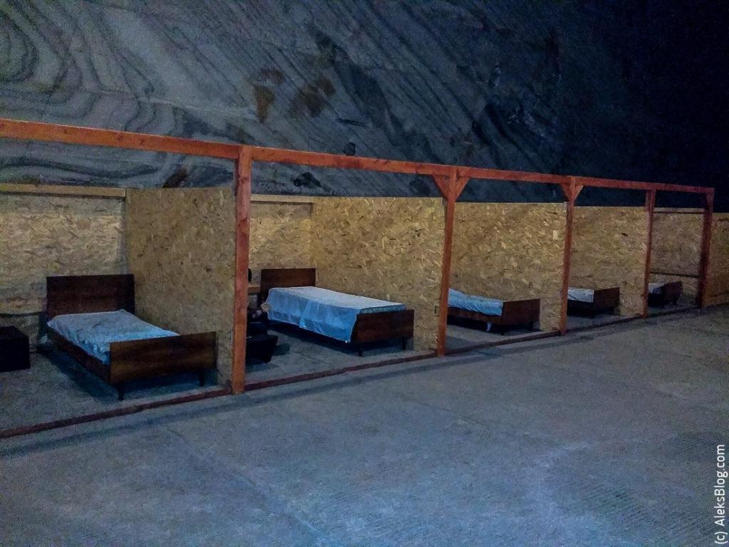 Соляная шахта Румыния