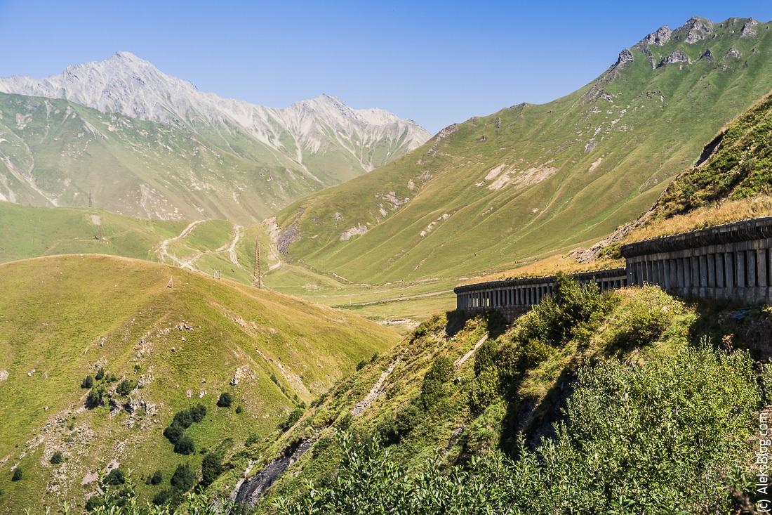 Грузия Военно-грузинская дорога