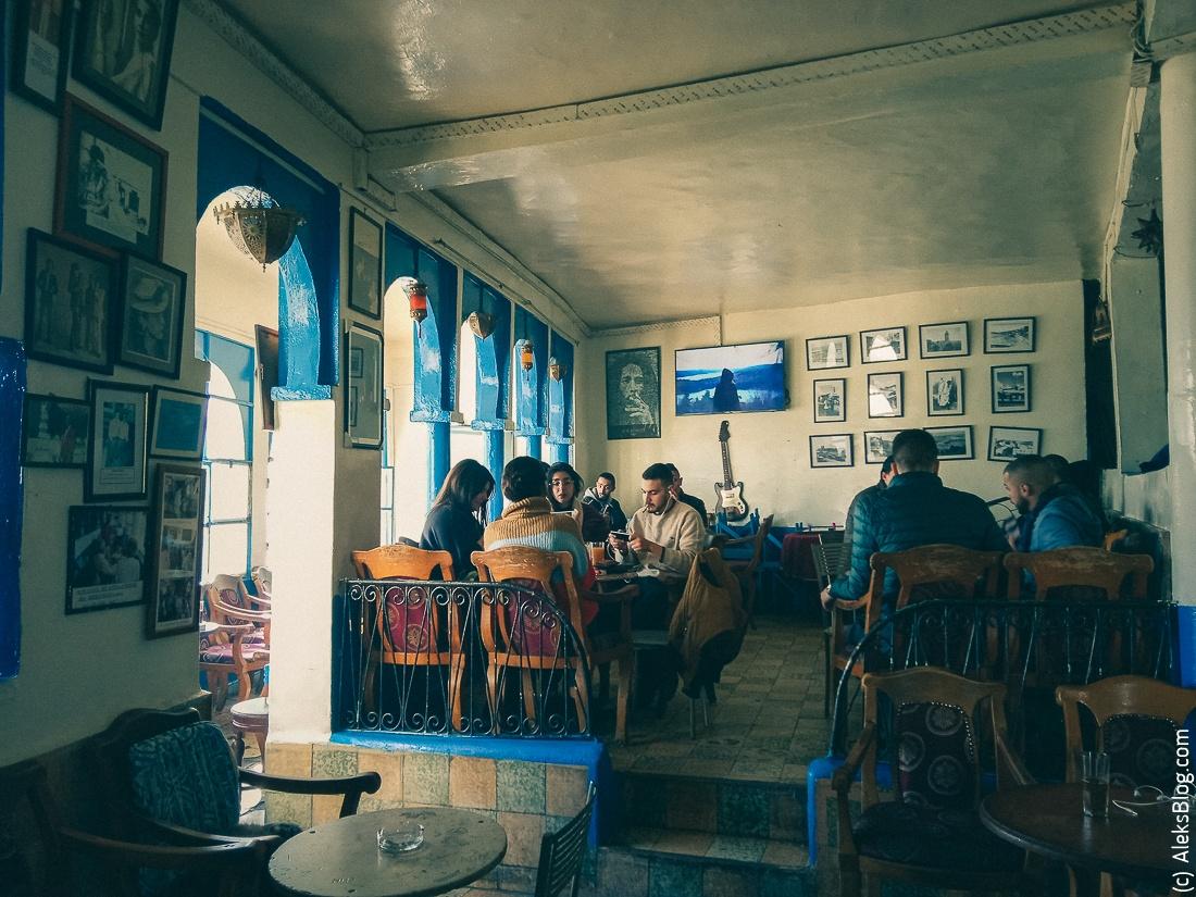 cafe Baba Tangier