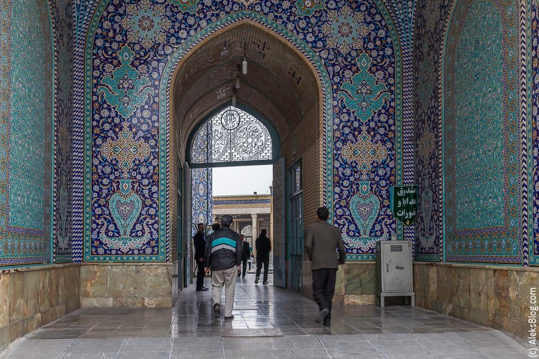 Иран Кум мавзолей Фатимы Масуме