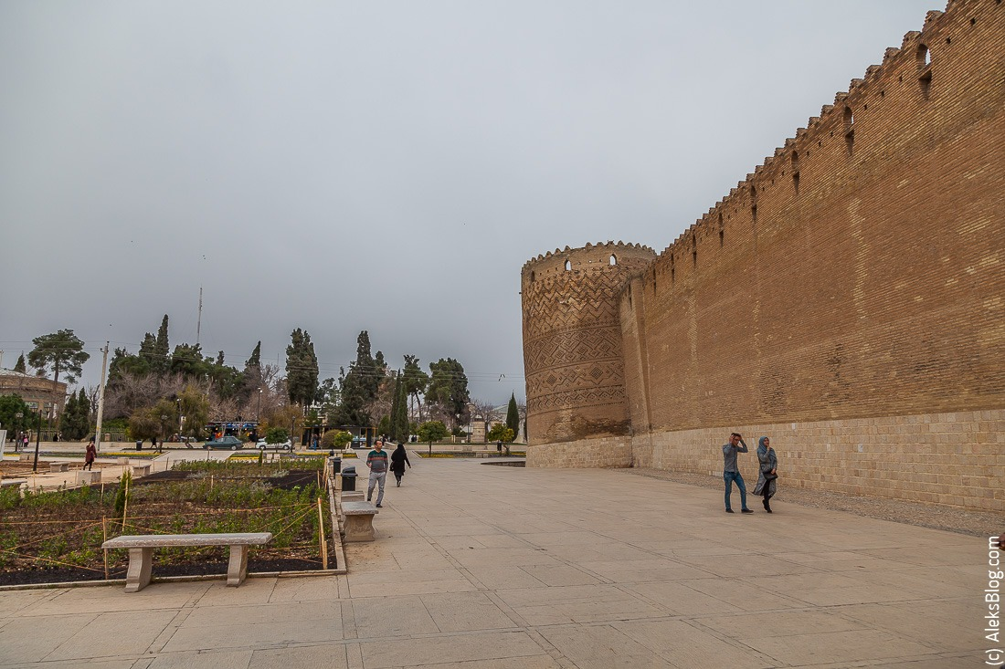 Шираз крепость Карим Хан
