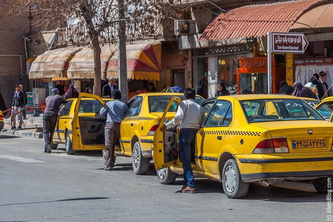 Керман Иран такси