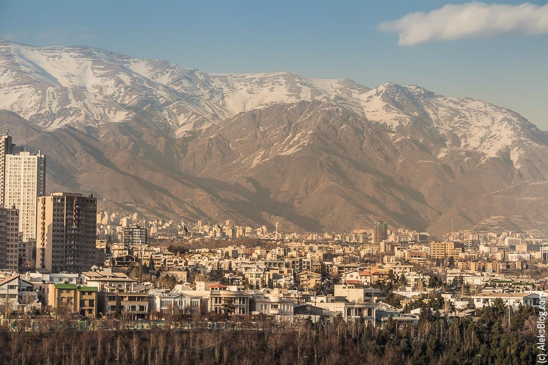Тегеран башня Милад