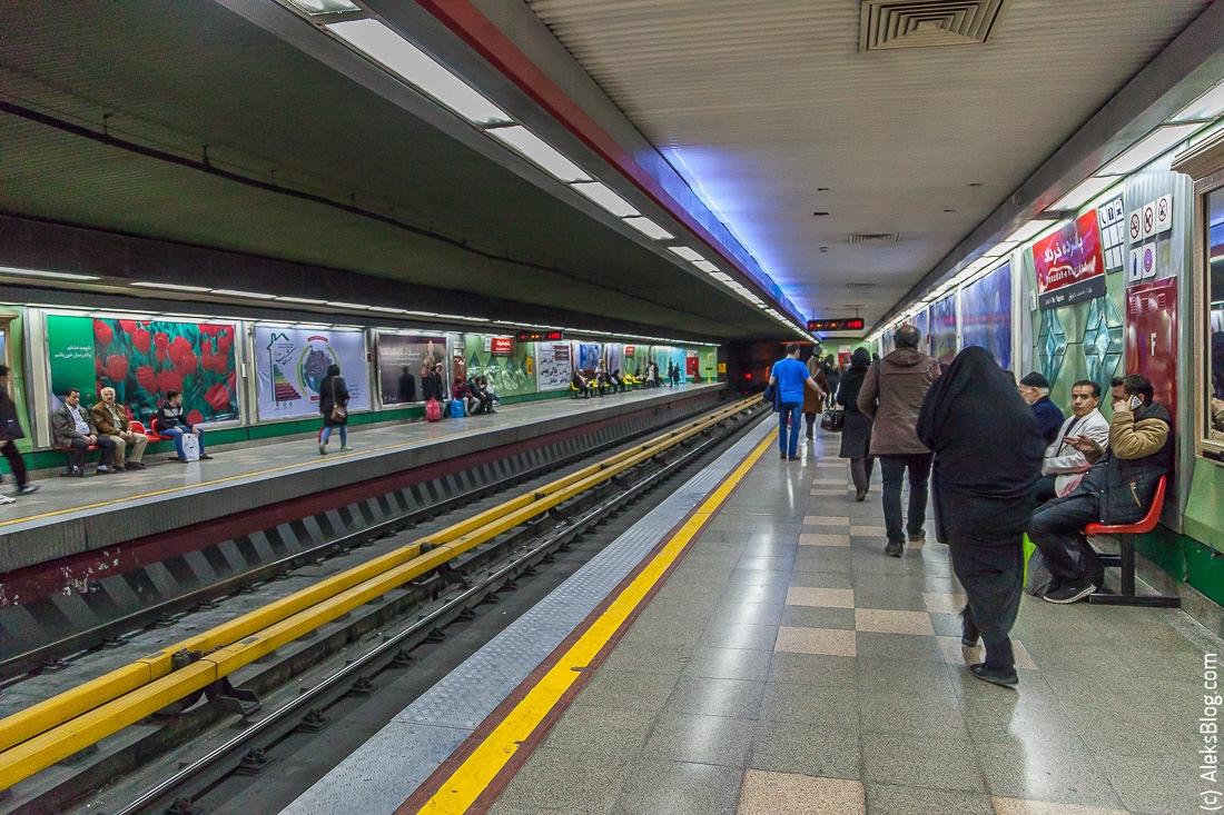 Тегеран метро