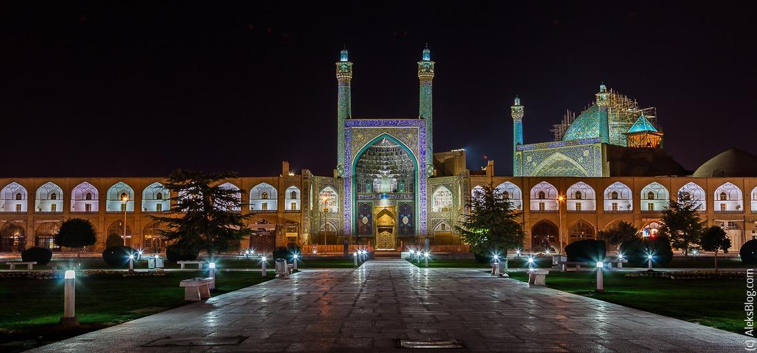 Исфахан мечеть Имама
