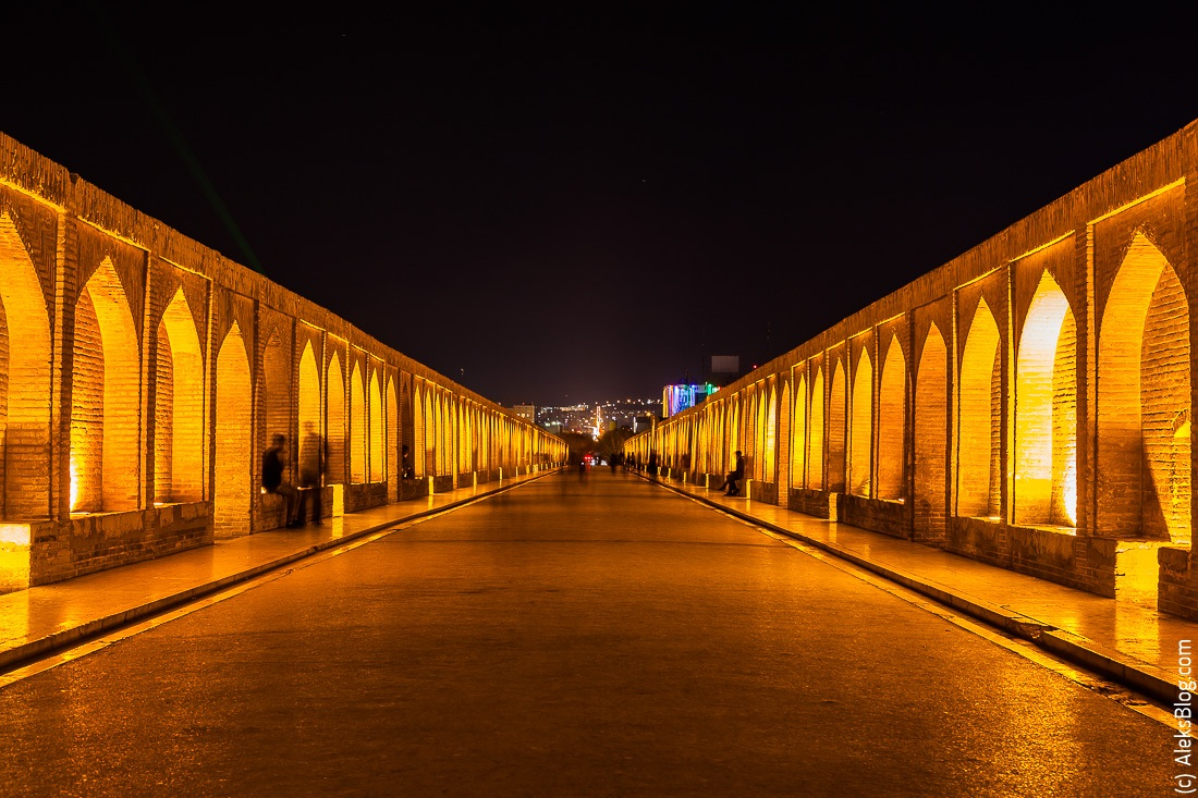 Исфахан мост 33 арок