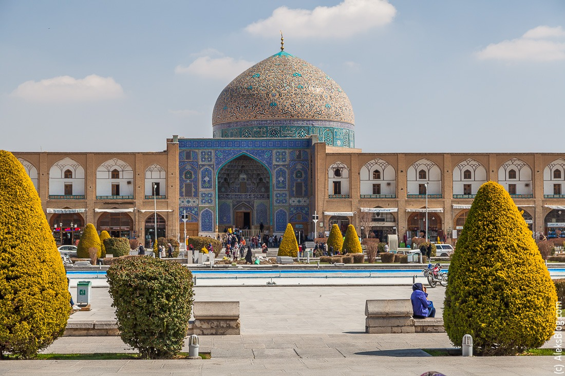 Исфахан мечеть Лотфоллы