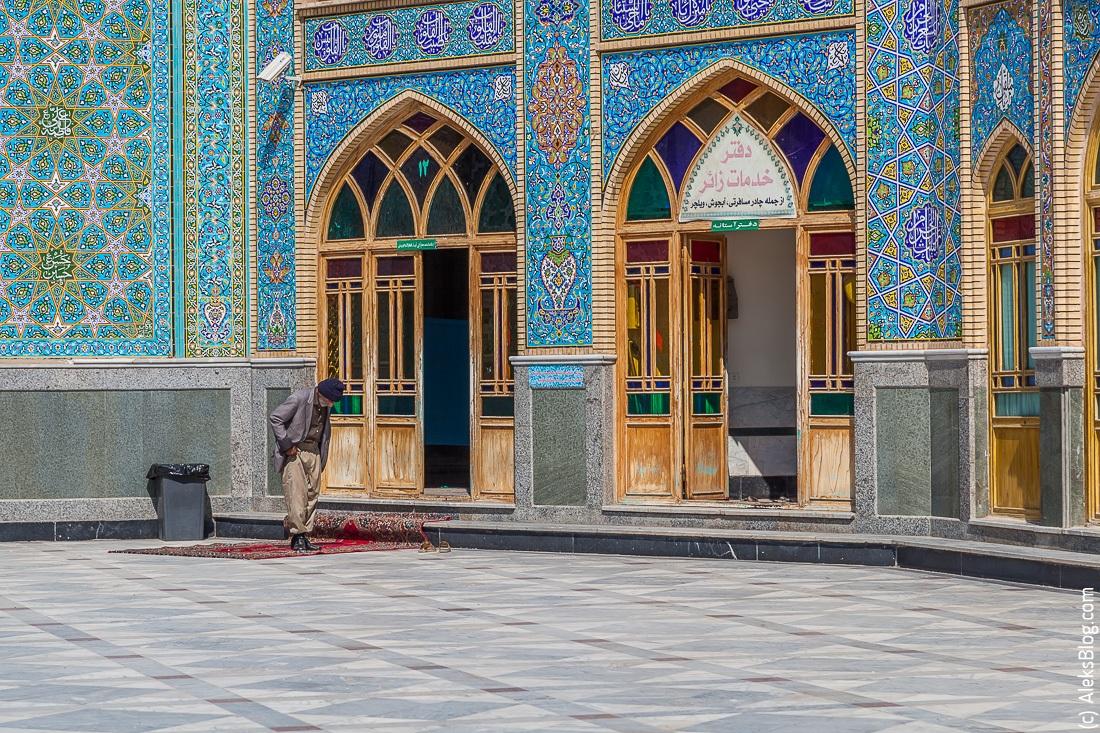 Кашан мавзолей Мохаммед Хелал ибн Али