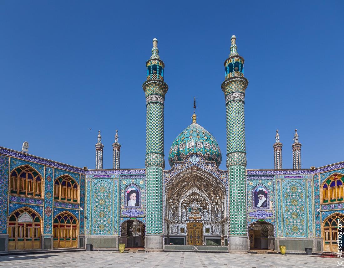 Иран мавзолей Кашан
