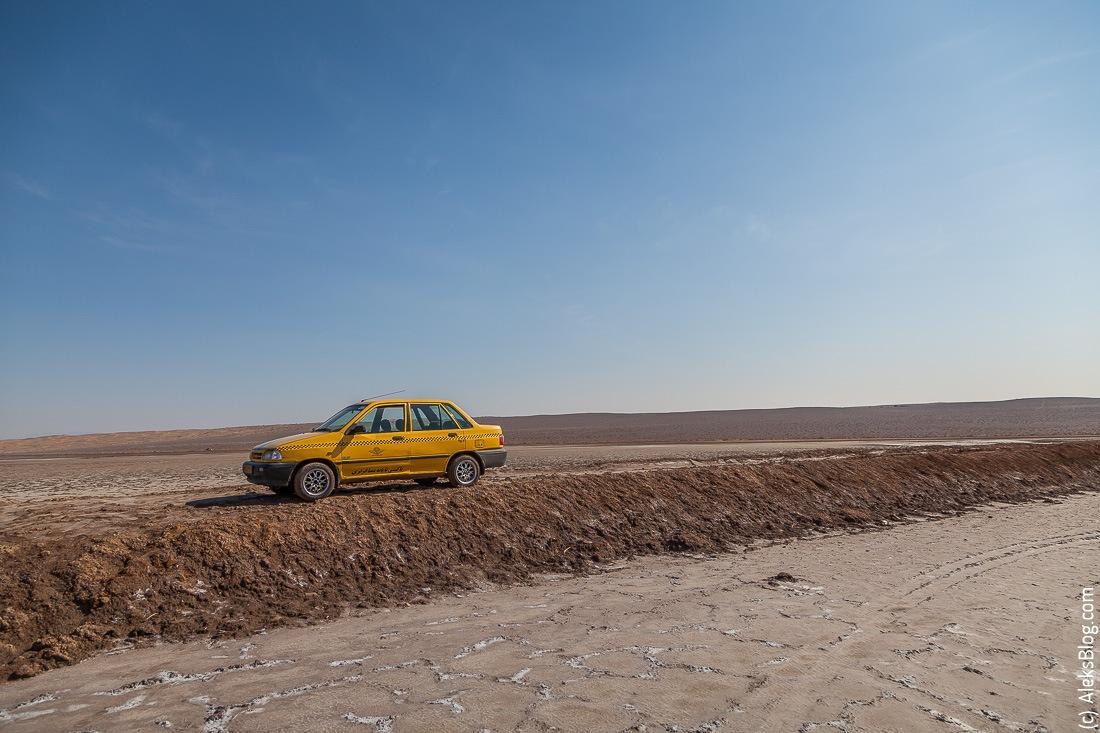 Кашан пустыня Маранджаб