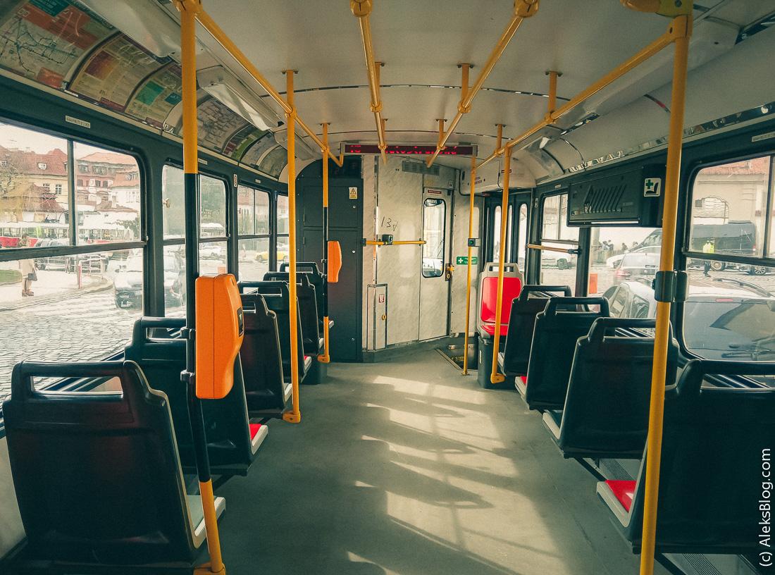 Прага трамвай