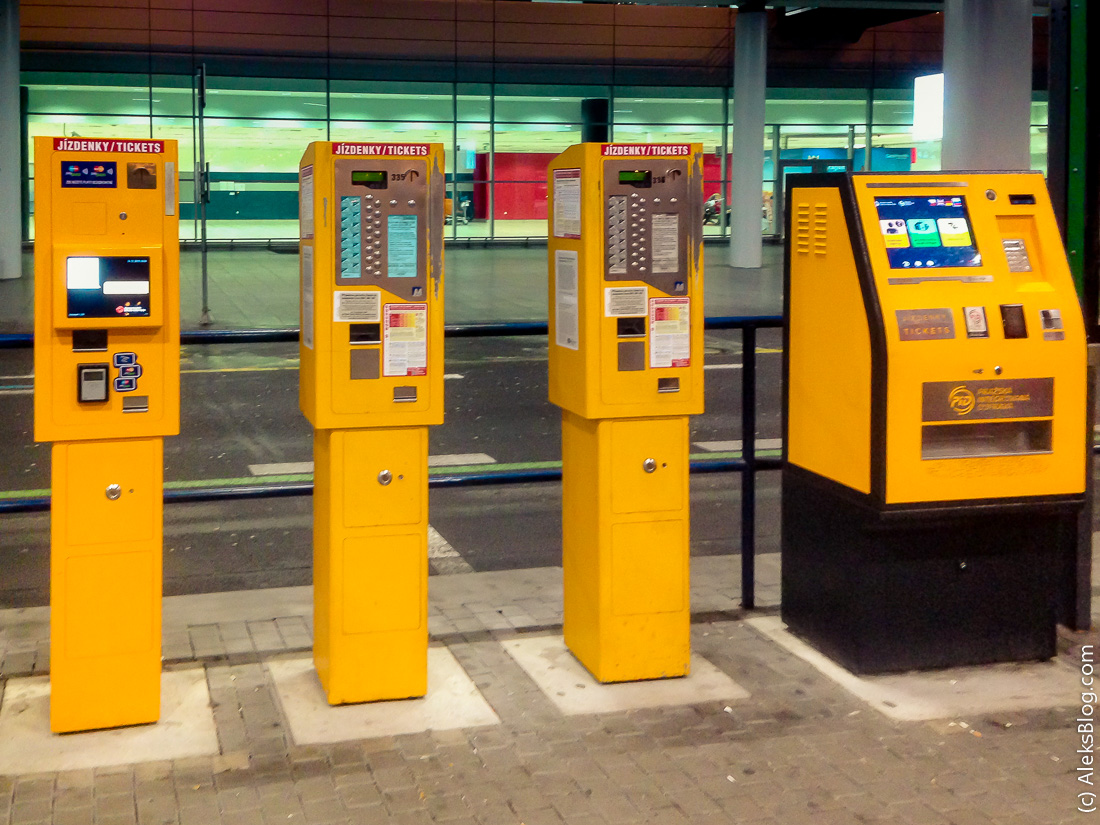 Прага билеты на общественный транспорт