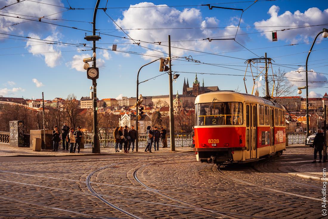 Прага общественный транспорт