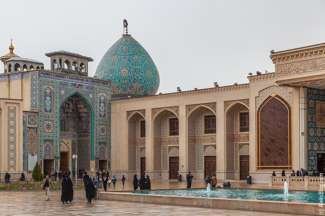 Шираз Шах Черах мавзолей