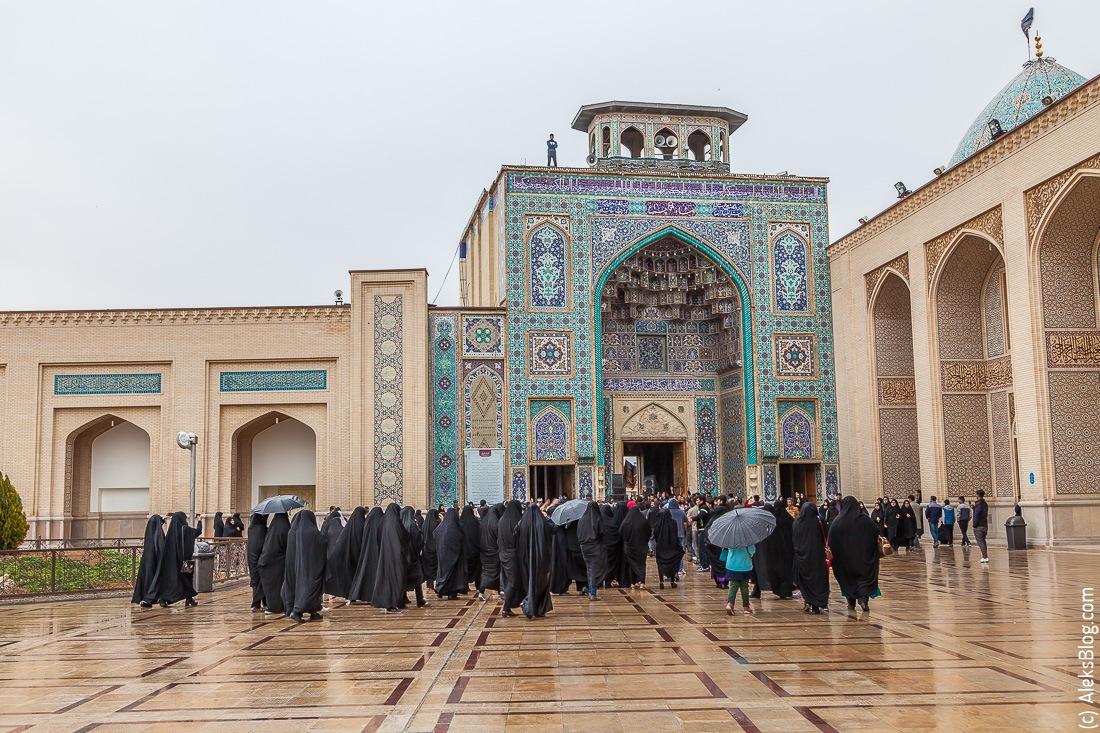 Шираз мавзолей Шах Черах