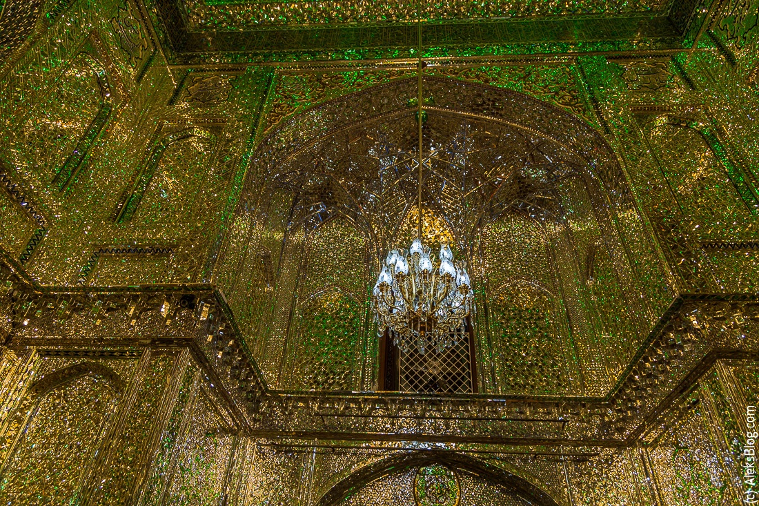 Шираз мавзолей сейида Алладина Хуссейна