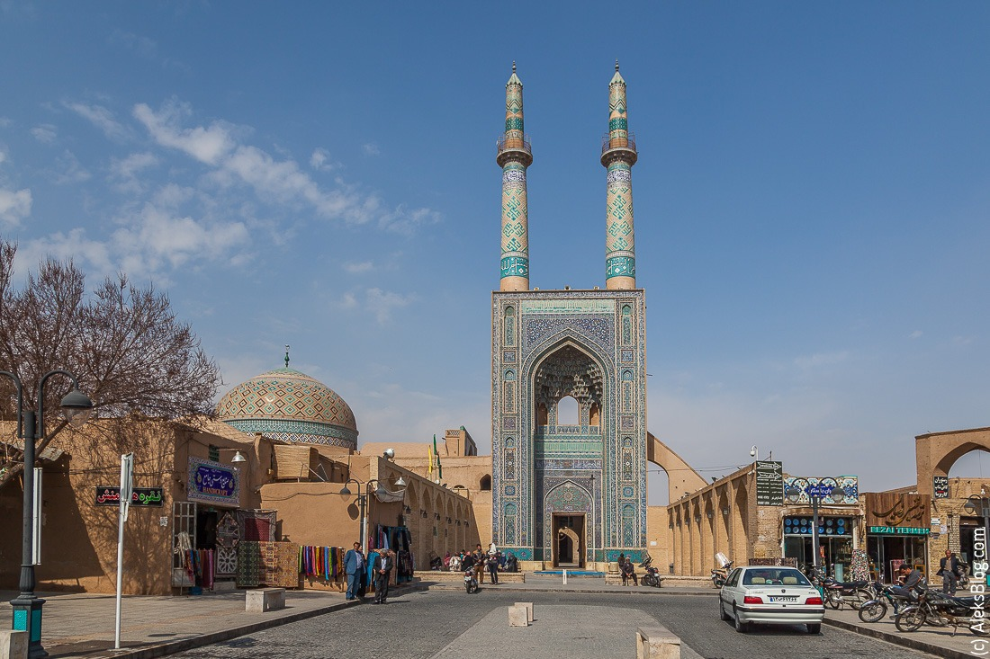 Джаме мечеть Йезд