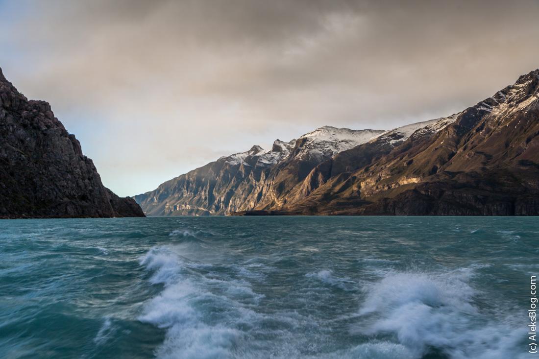 Ледники Аргентины озеро Lago Argention