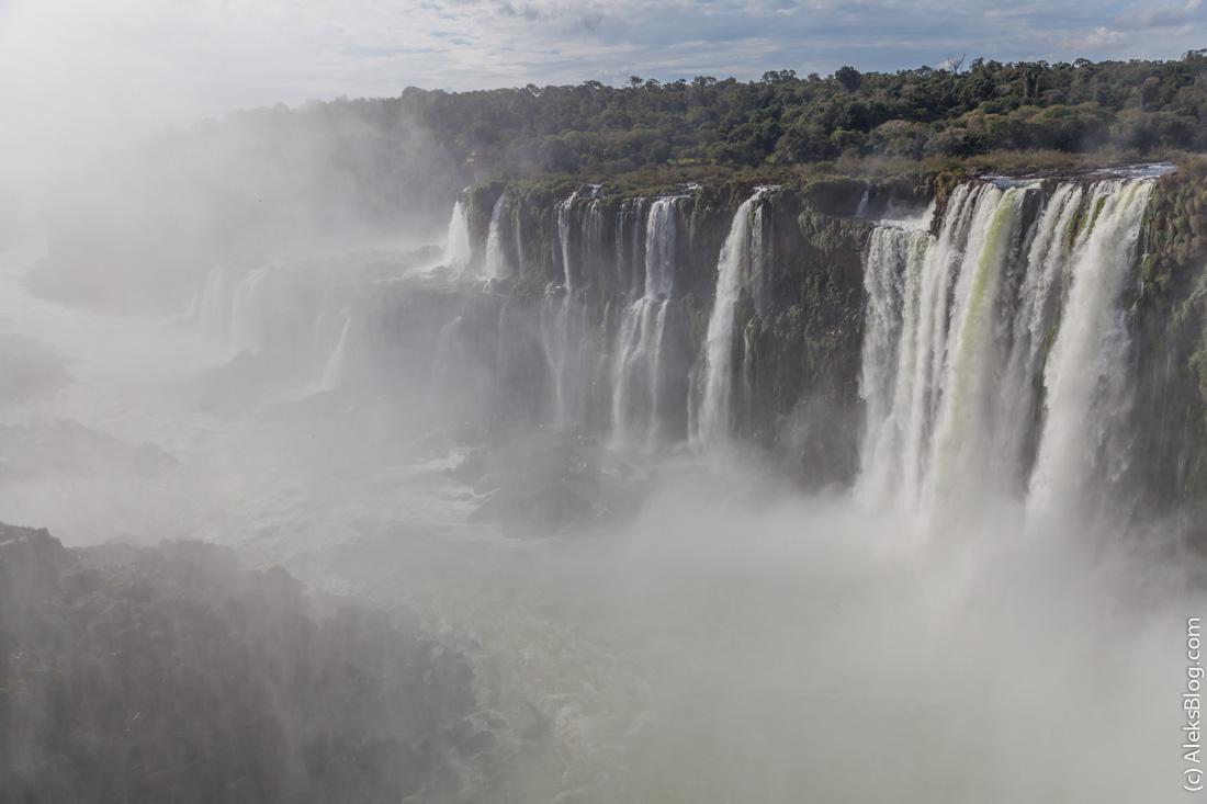 Аргентина водопады Игуасу