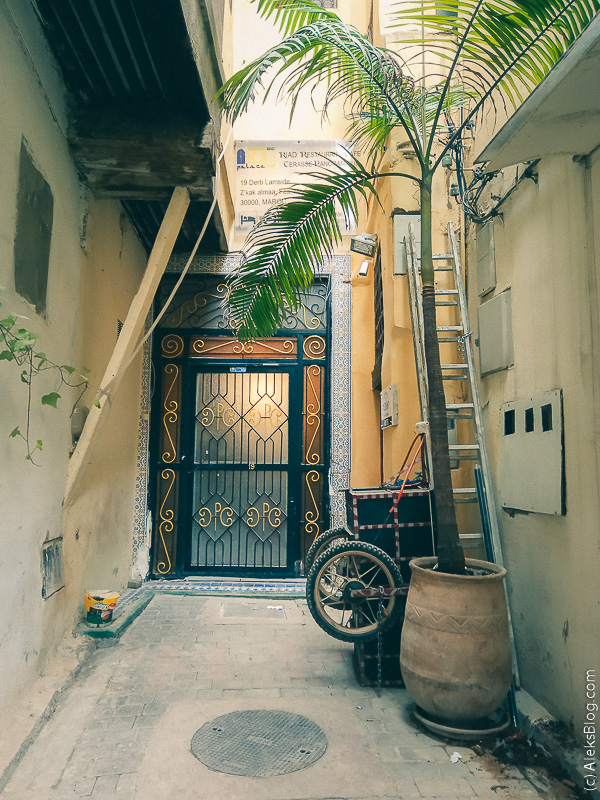 риад в Марокко