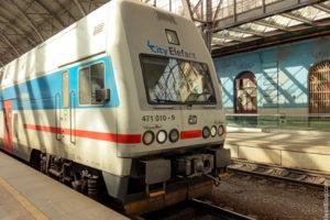 поезда в Праге