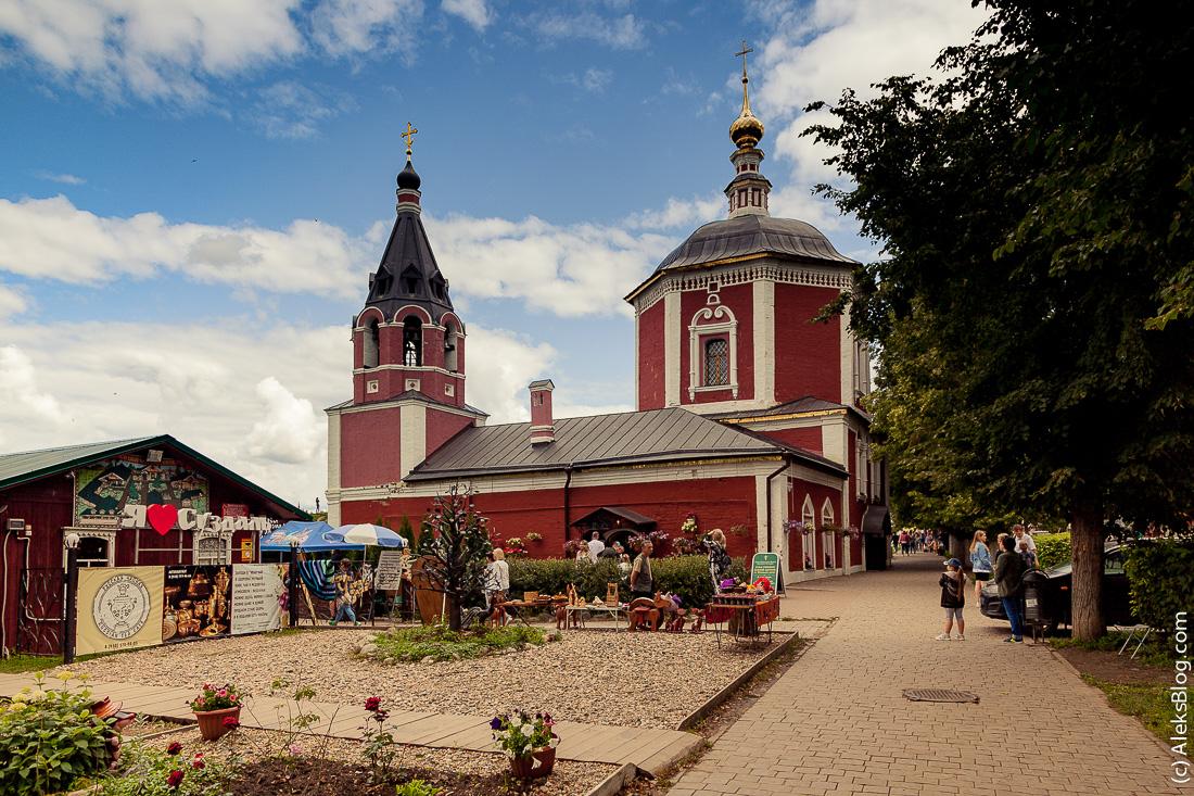 Суздаль Успенская церковь