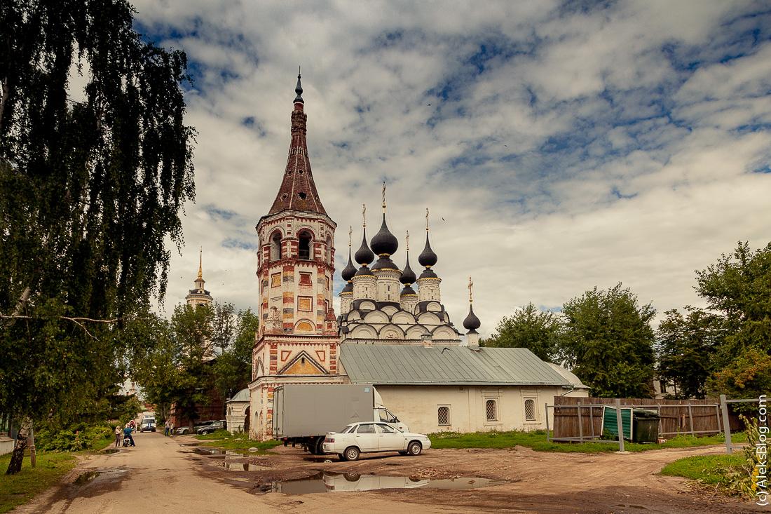 Суздаль Лазаревская и Антипиевская церковь