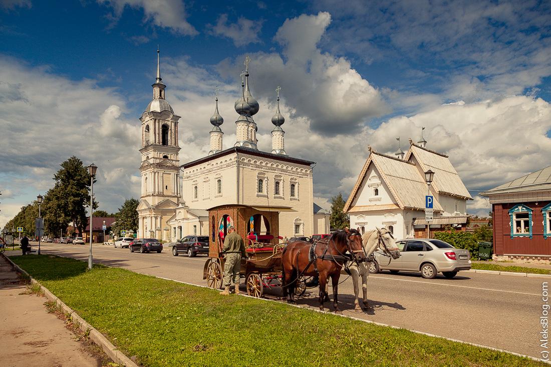 Суздаль Смоленская церковь