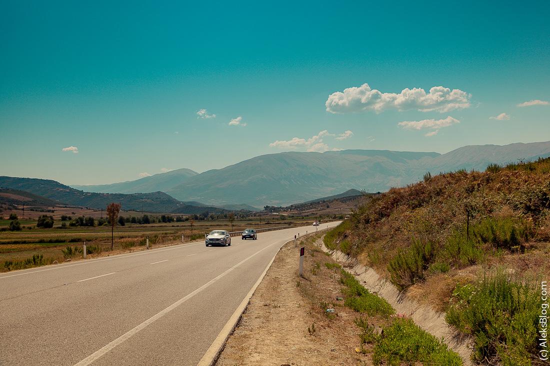 Албания дороги