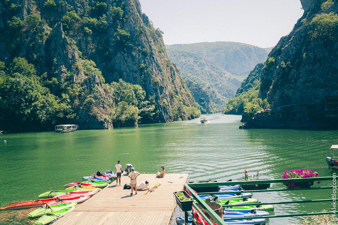 Македония каньон Матка
