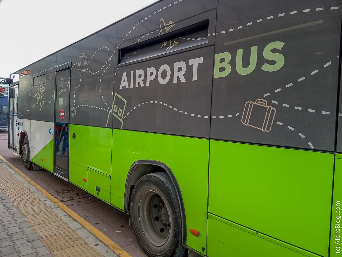 Мальта автобус из аэропорта