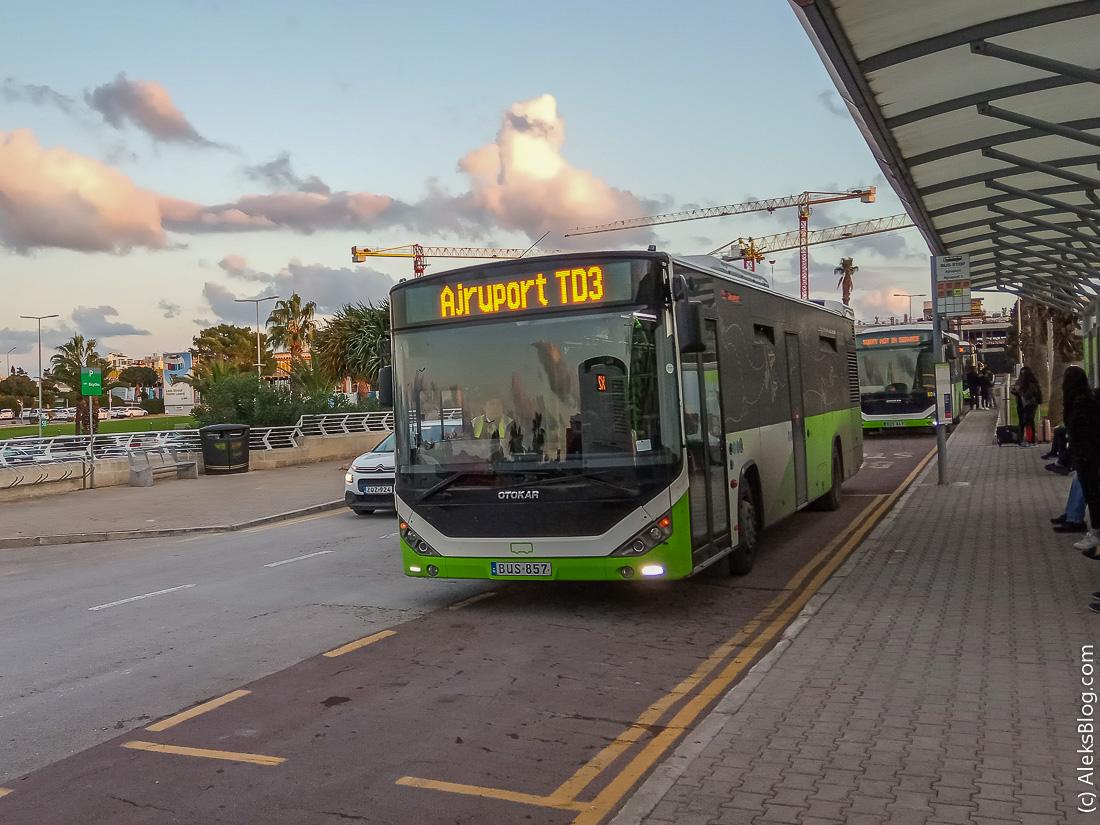 Мальта автобусы