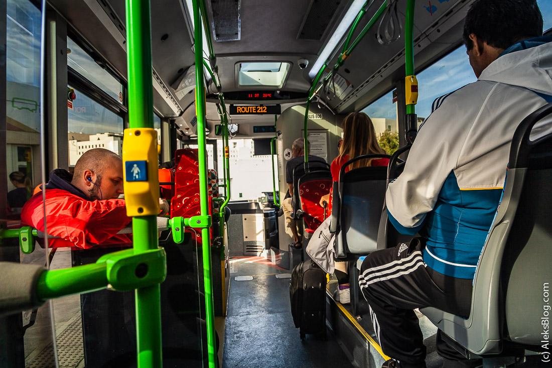Автобусы на Мальте