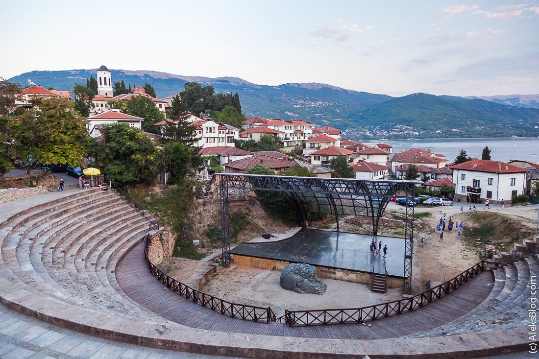 Охрид амфитеатр