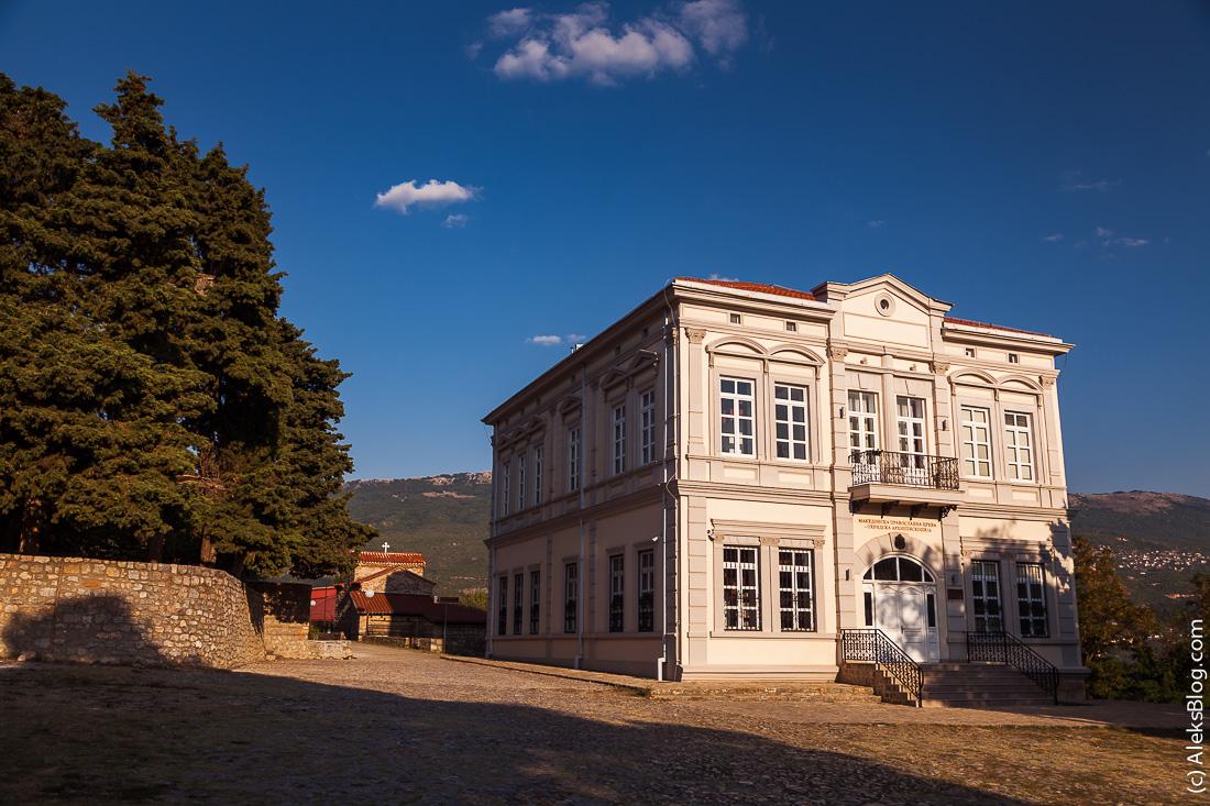 Церковь Пресвятой Богородицы в Охриде
