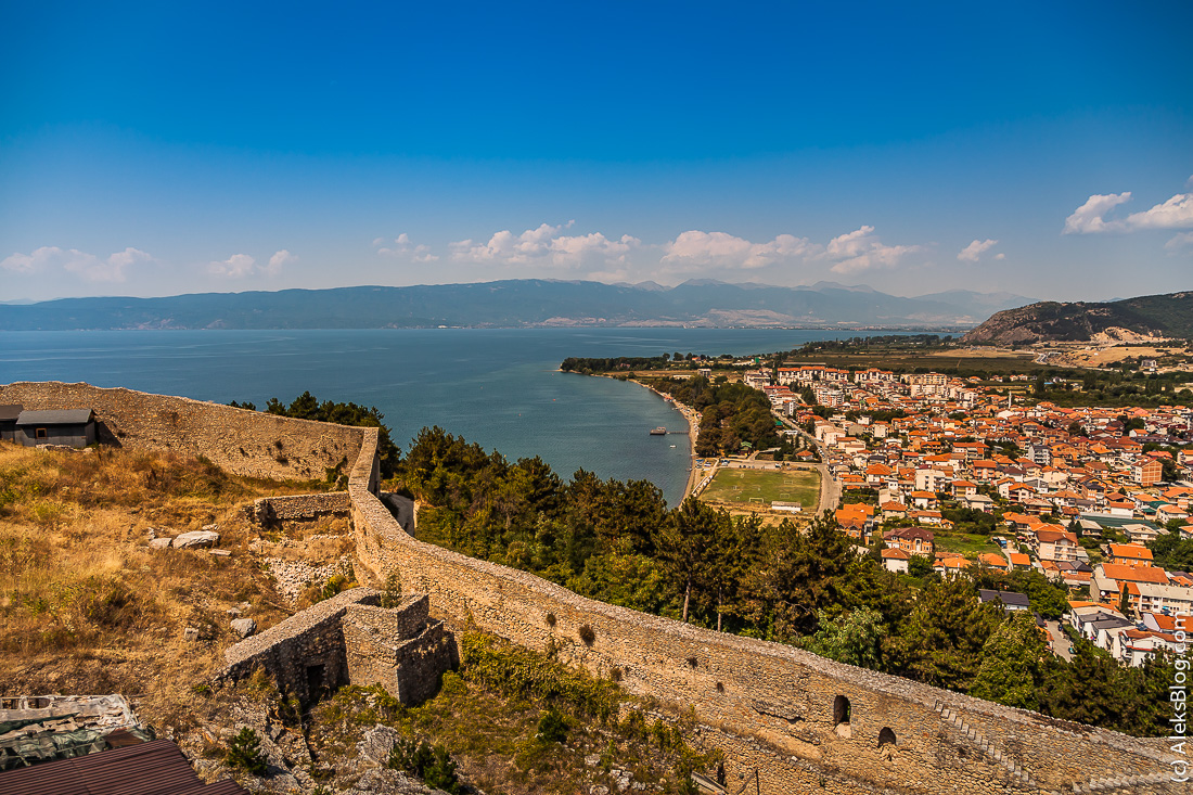 Самуилова крепость Охрид