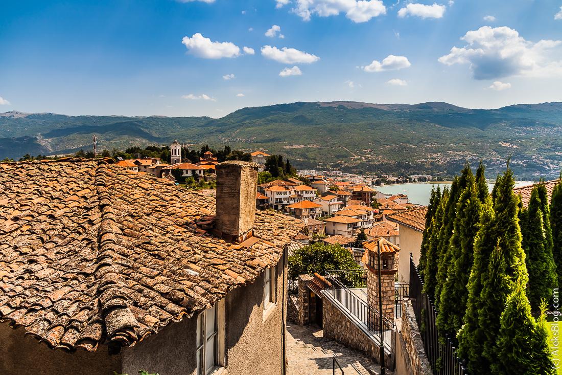 Охрид Старый город
